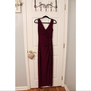 Ralph Lauren Dresses - ralph lauren purple prom dress